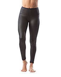 "Womens High Waist High Shine Disco 28"" Leggings"