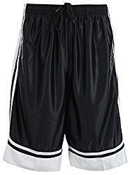 Mens Two Tone Training/Basketball Shorts with Pockets