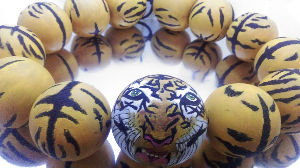 """Tiger! Tiger! Tiger! Necklace"