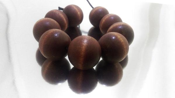 Wood Bracelet-Mahogany (1-inch)