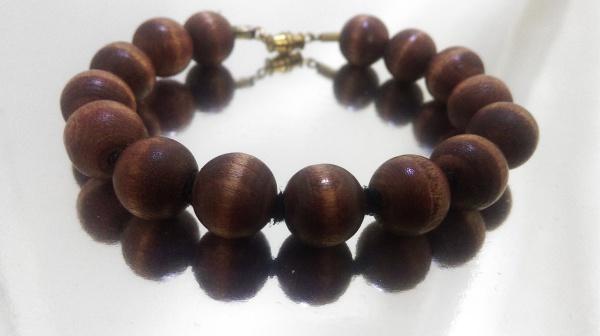 Wood Bracelet-Mahogany (1/2-inch)