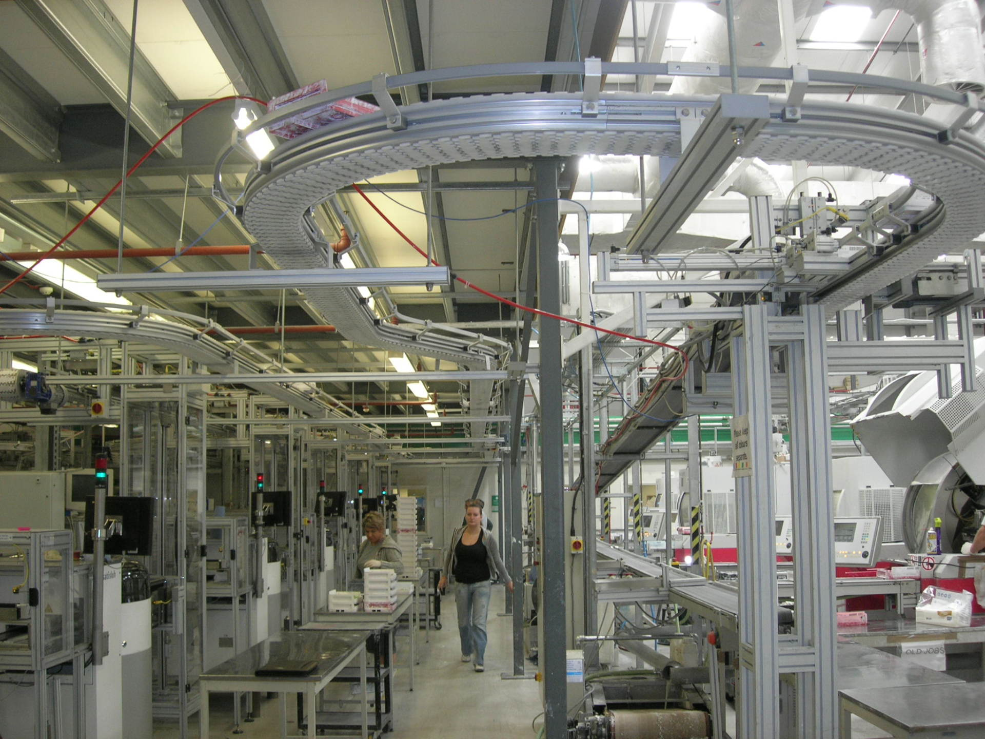 Modular Aluminum Conveyor Systems
