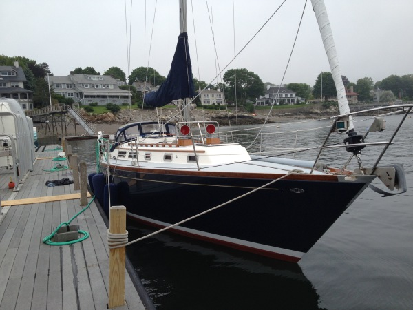 SailonPatriot Corinthian Yacht Club Dock