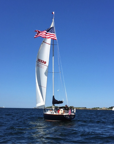 SailonPatriot charter fourth of July