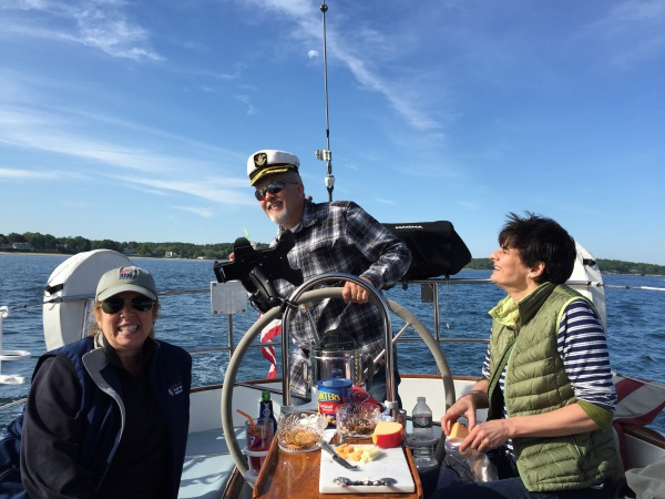 Sailboat charter captain for a day