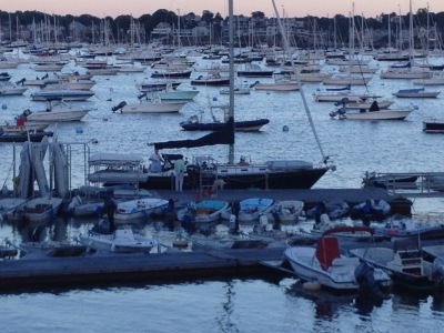 Marblehead harbor tour