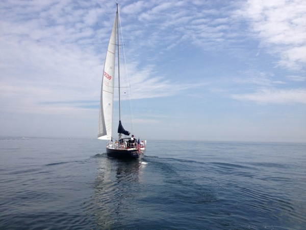 Marblehead sailing charter SailonPatriot