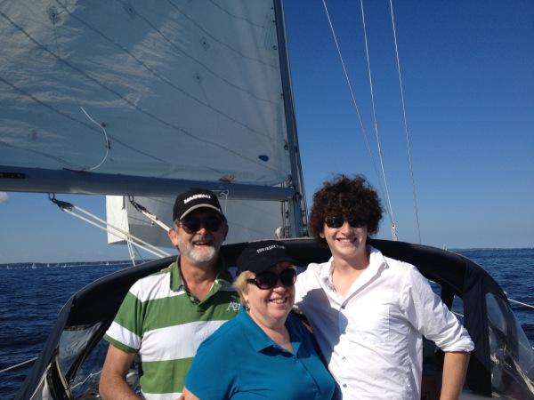 Family sailboat charter SailonPatriot