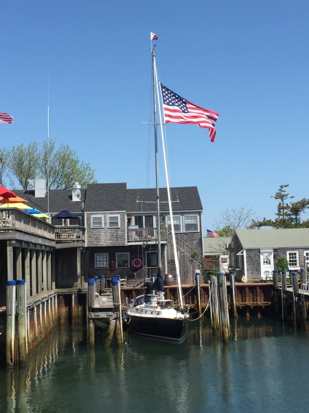 Flying the Flag on Nantucket