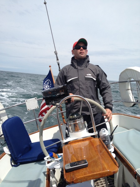 SailonPatriot captain for a day