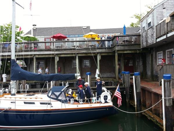 Docking at Nantucket 1