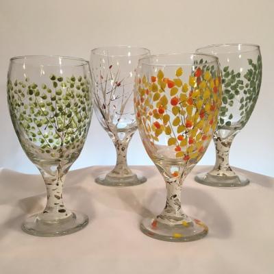 Goblet Glasses Set