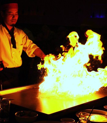 Our Hibachi - Busy Saturday Night.