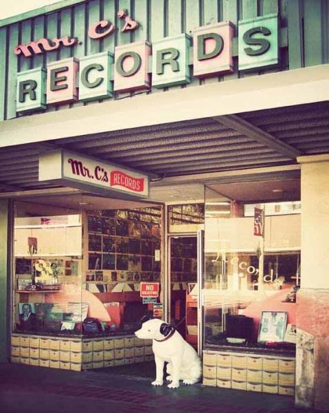Vinyl records nostalgia