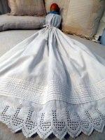 Baby petticoat pinning blanket