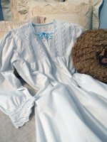 1880s French Trousseau Nightgown