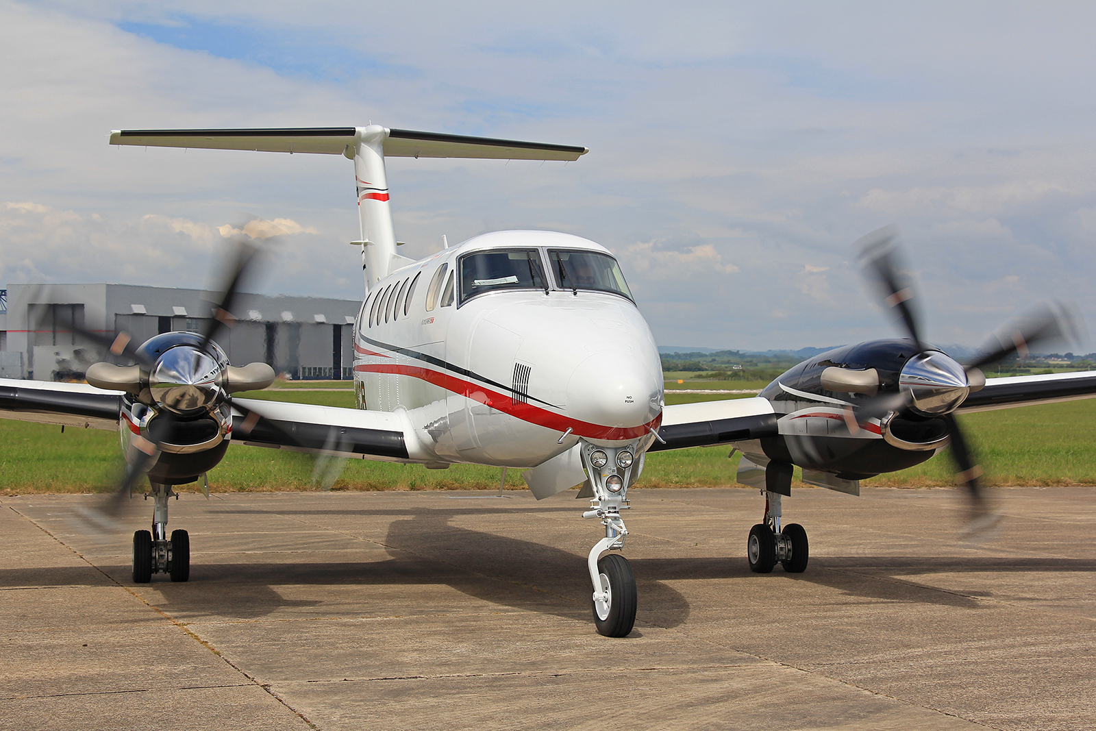 King Air 250 G-NICB