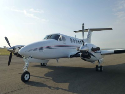 King Air 200 G-MEGN