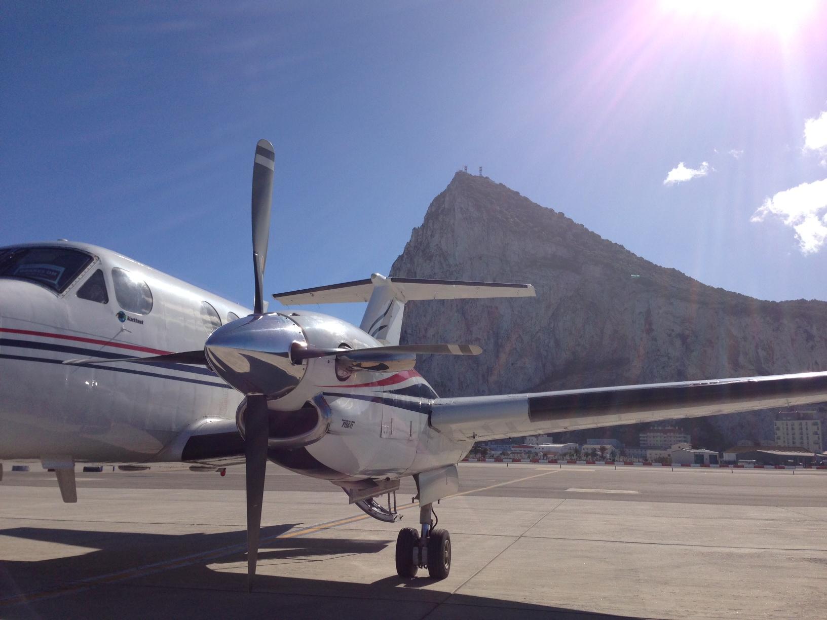 King Air 200 G-BVMA