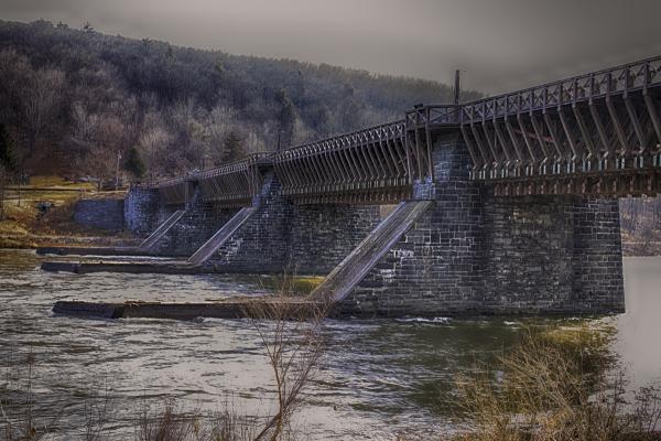 Roebling Aqueduct Bridge Deleware Lackawaxen