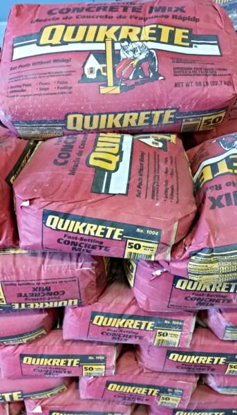 Quickrete Fast Setting Concrete