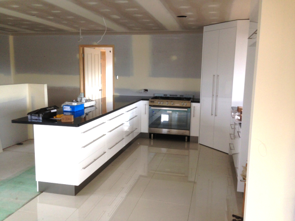 New completed kitchen