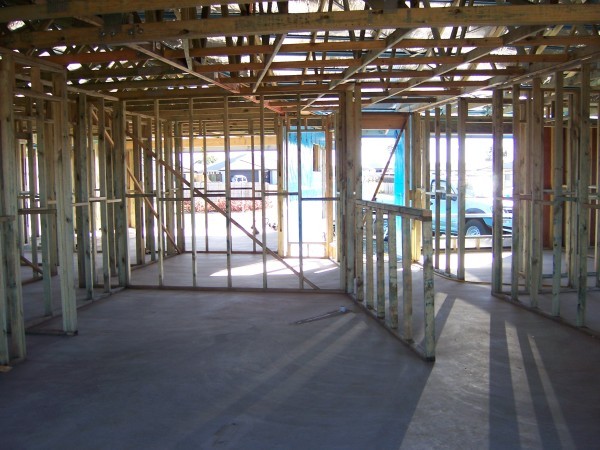 New home timber frame