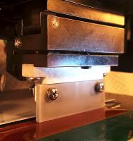 Picture of ceramic hotbar ACF bonding with link to Fixture design, hotbar process development and hotbar solder reflow bonding services
