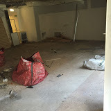 A shop strip out completed in Leeds city centre