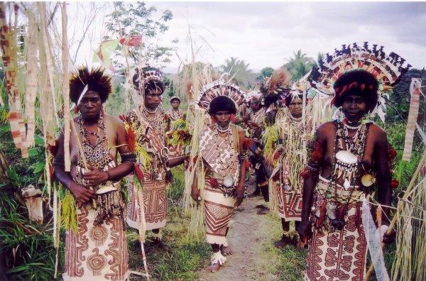 Maisin (Papua New Guinea) bark cloth (tapa)