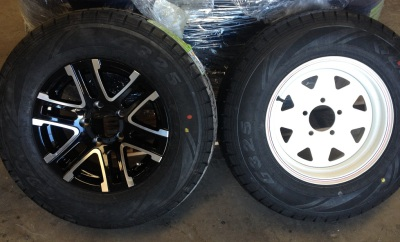 Upgrade to Alloy Wheels