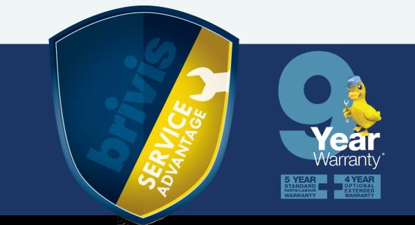 Brivis 9 Year Warranty