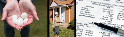 Homeowner Insurance Claim Process - (Storm Related Damages)