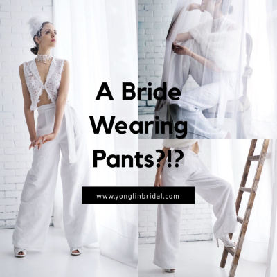 Should You Wear Pants On Your Wedding Day?