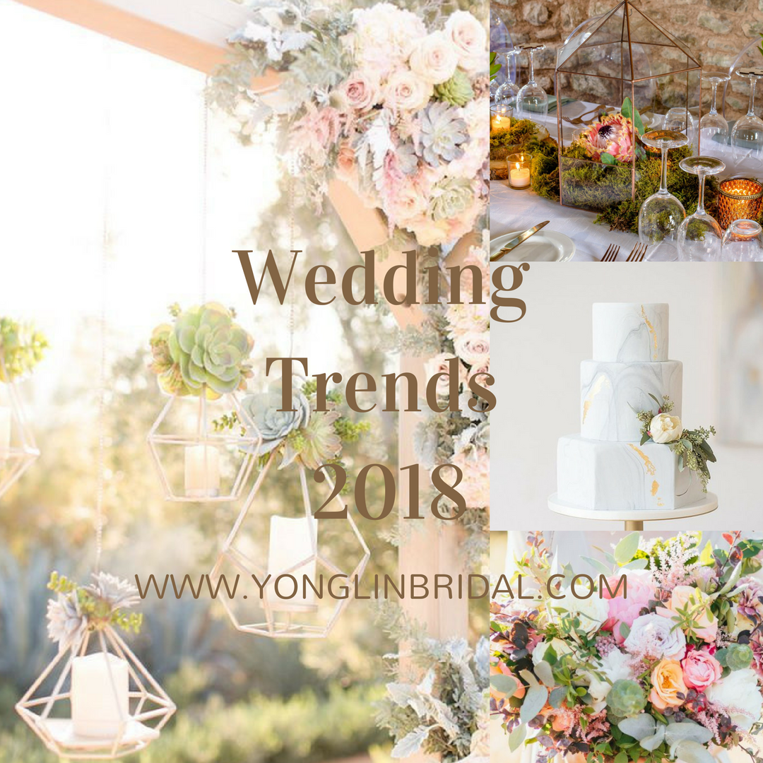 Wedding Trends of 2018