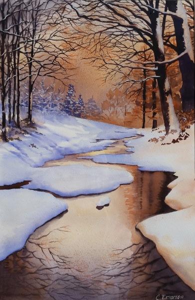 Late Winter Stream