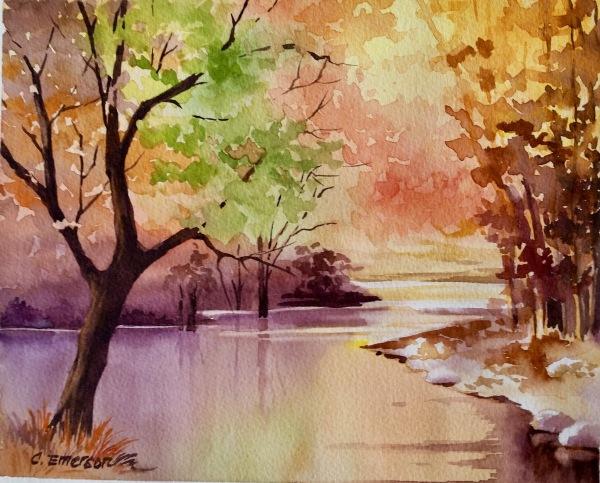 Nevers Park Autumn