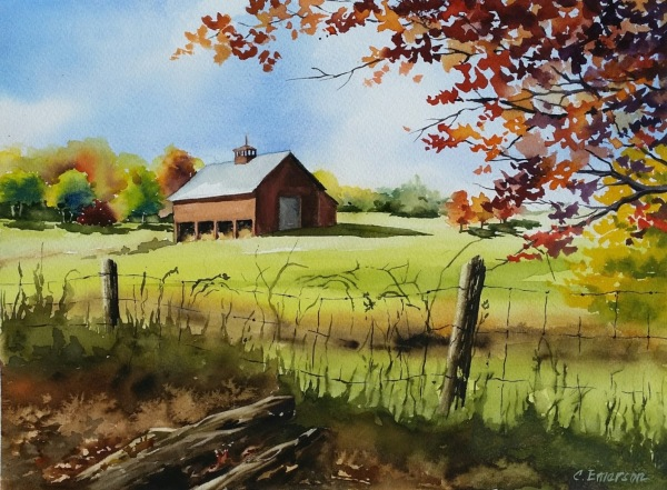 Tolland, CT Farm  11 X 15  $300