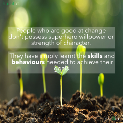 Change skills can be learned