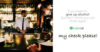 My check please!