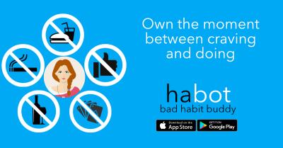 ANNOUNCING habot - bad habit buddy