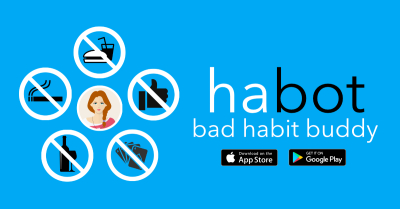 ANNOUNCING habot - bad habit buddy