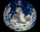 Clouds over Earth