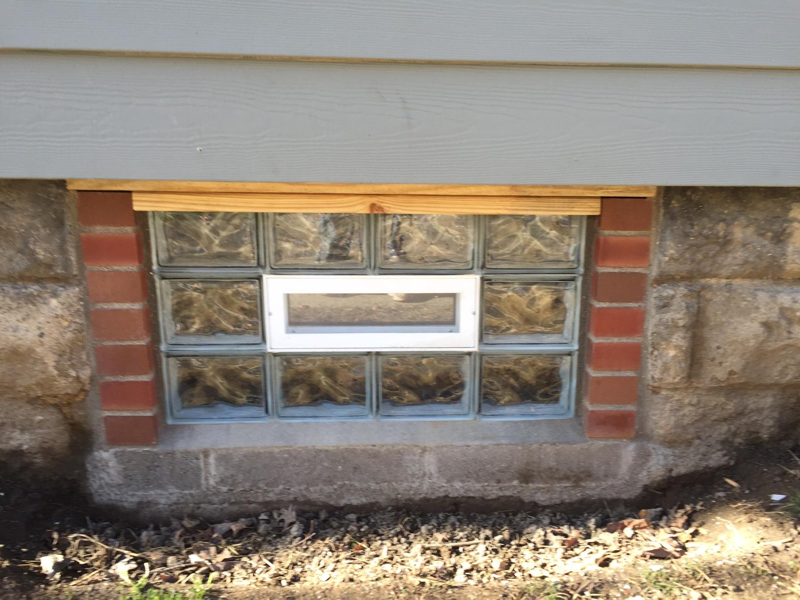 Masonry Restoration and Block Windows