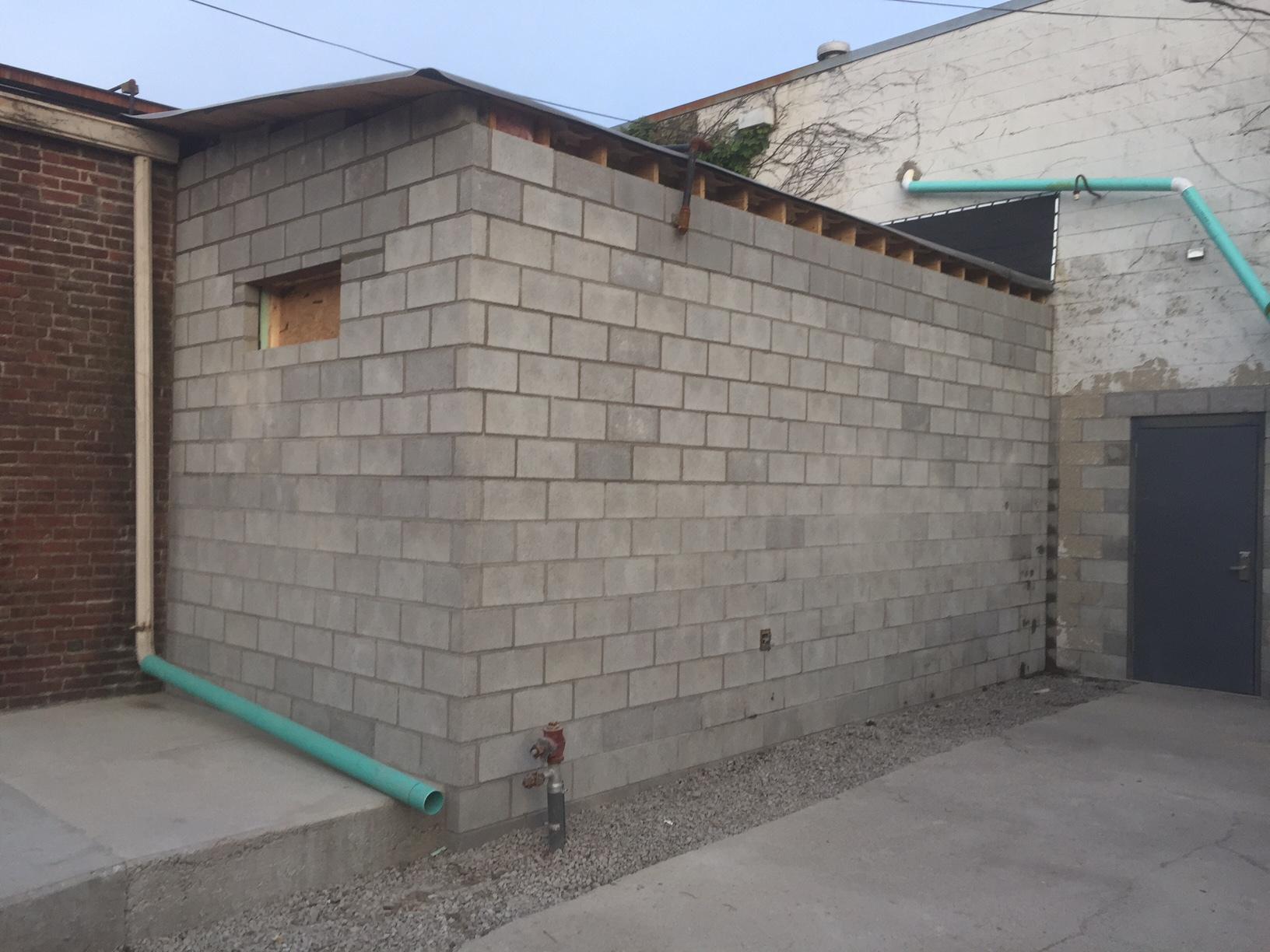 Concrete block project