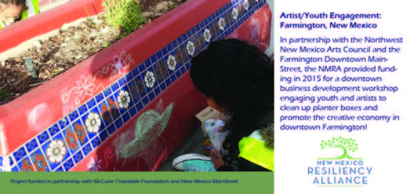 2015: Artist / Youth Engagement
