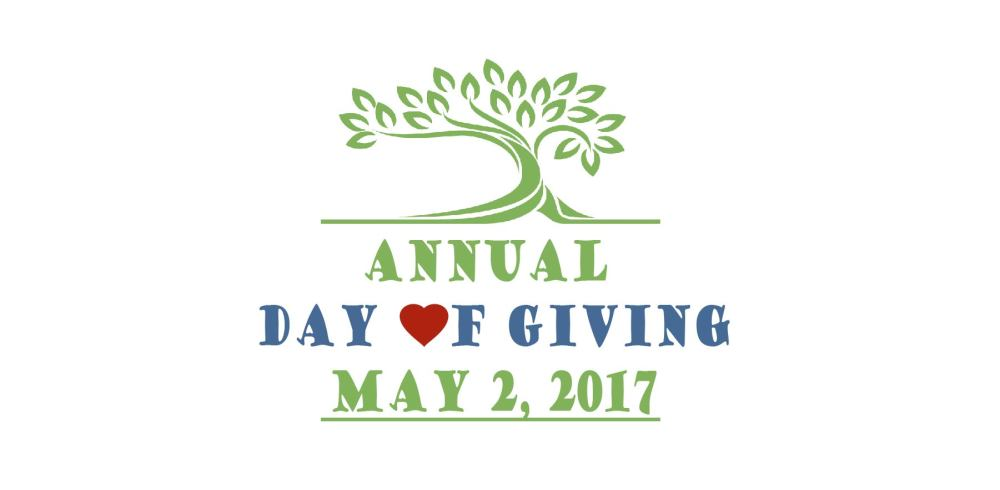 Annual Day of Giving: May 2, 2017