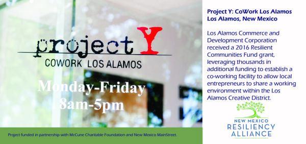 2016: Project Y Cowork Los Alamos