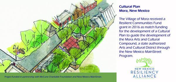 2016: Mora Cultural Plan