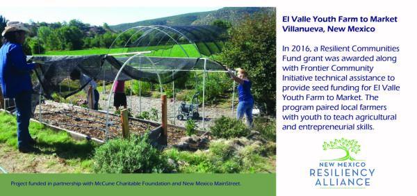 2016: El Valle Youth Farm to Market
